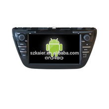 Quad core car dvd player with gps,wifi,BT,mirror link,DVR,SWC for Suzuki 2013 SX4