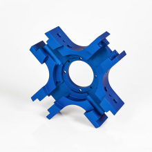 blue anodizing 6061 aluminum bike parts