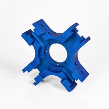Anodisation bleue 6061 pièces de vélo en aluminium