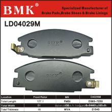 Plaquettes de frein de qualité avancée (D4029M)