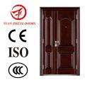 Sliding Security Double Steel Door in China