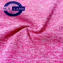 Jersey doux 100% polyester mélangé en coton doux pour vêtements de bébé