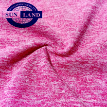 100% polyester melanges single jersey soft cotton for baby clothes