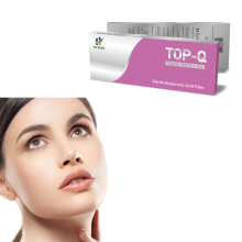 Sterile syringe Hyaluronic Acid Korea Dermal Filler for Skin TOP-Q Derm line 1ml