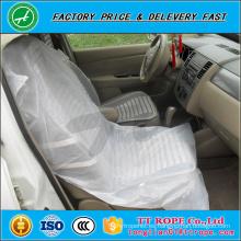 cubierta de asiento de coche de plástico antideslizante desechable personalizada