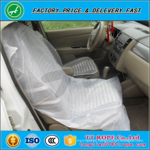 customized disposable anti-slip plastic car seat cover