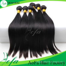 Aofa 7A Grade Virgin Hair Remy Human Hair Extension