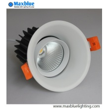 Triac 0-10V Dali Dimmable recesso LED COB Downlight