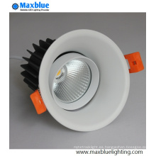 Hole 88mm empotrable LED Spotlight para hoteles