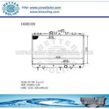 RADIATOR 1640011120 pour TOYOTA 87-90 TERCEL Fabricant et vente directe!