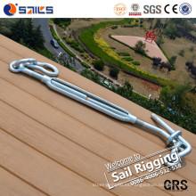 Tensor de amarre de acero galvanizado eléctrico de la cubierta
