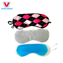 Promotional Customized Logo Printed Small Moq New Cooling Gel Eye Mask