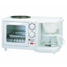 White Plastic 3 in 1 Multifunction Breakfast Maker (SB-BMS02)
