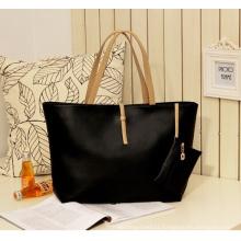Women Faux Leather Fashion Messenger Handbag Lady Shoulder Bag (43250)