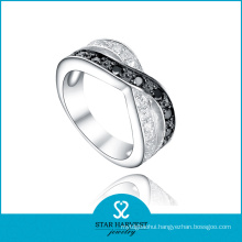 New Pave Setting 925 Sterling Silver Ring for Discount (R-0479)