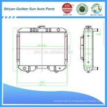 Myanmar radiador agrícola da fabricação de Shiyan na China.