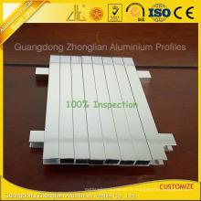 Aluminium poli de très haute qualité pour la décoration de meubles de salle de bains