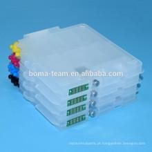 Status do cartucho vazio e resetter chip para ricoh GX3000 GX7000 GX5000 GX2500 tanque de tinta residual de impressão para ricoh gc21