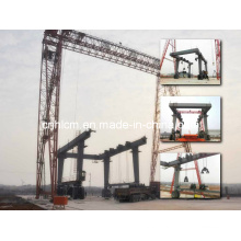 Yachtyard Rubber Wheel Gantry Crane