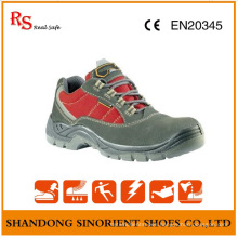 2015 Italian Suede Leather Oil Resistant Safety Shoes