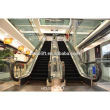 Escaleras mecánicas comerciales con escalones de aluminio