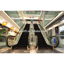 Escada rolante comercial com degraus em alumínio