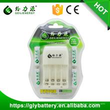 Cargador de batería automático GLE-805 12V para AA AAA Ni-cd Ni-mh batería hecha en China