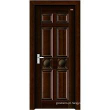 Porta de madeira de aço inoxidável (LTG-104)