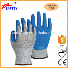 Latex Coated Cut Resistant Working Gloves