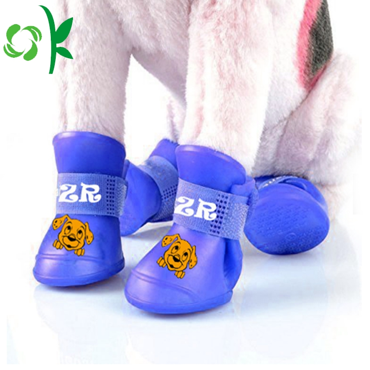 Outdoor Silicone Pet Shoes