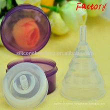 2017 100% medical silicone menstrual cup