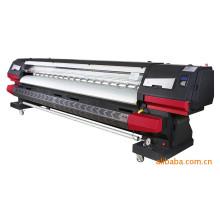 Impressora da bandeira do cabo flexível da impressora a jacto de tinta For1.6m 1.8m 2.2m 3.2m e impressão de papel de Digitas