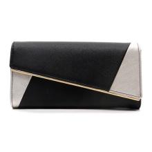Online Shopping New Fashion Woman PU Leather Clutch Bag