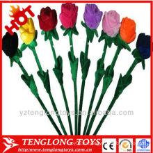 Оптовая Плюшевые цветок искусственный цветок
