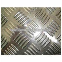 placa de piso de alumínio antiderrapante