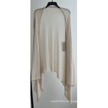 Langarm Opean Patterned Strickjacke für Frauen