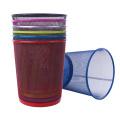 Lixeira de lixo colorido de rede de ferro (YW0079)