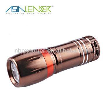 2015 hot selling 9 led mini led flashlight