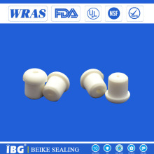 Electrie wire seal white silicone rubber stopper