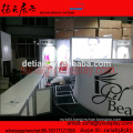 Saria provide trade show booth system for IGEL Beauty, 3D exhibition booth design system from Shanghai stand factory