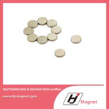 Ímã de NdFeB permanente de disco de alta qualidade para a indústria