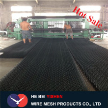 Hot dipped galvanized PVC coated gabion mesh