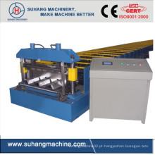 Personalizar Qualidade Ce & ISO Estrutural de Aço Telhado Deck Deck Rolo dá forma à Máquina