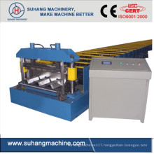 Customize Quality Ce &ISO Structural Steel Roof Floor Deck Roll Forming Machine