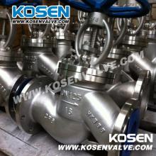 Válvulas de globo de acero fundido (J41W)