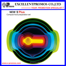 9PCS высокое качество Красочный Экологичный торт выпечки инструменты (EP-LK57271)
