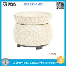 Creme-Blumenwachskerzen-Wärmer-elektrischer Öl-Brenner