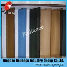 Vidro matizado com cor diferente usado para Builiding