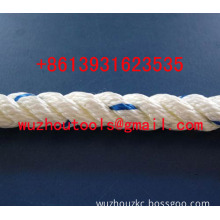 Solid braided nylon rope  large strength climbing rope