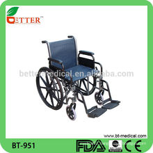 Aluminum exercises wheelchair,out door travel wheelchair